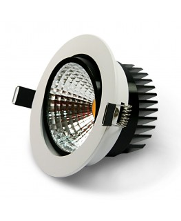 12W COB LED Riktbar Downlight