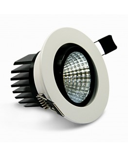 9W COB LED Riktbar Downlight
