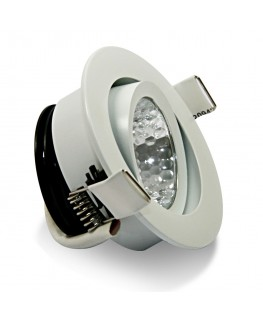 7W COB LED Riktbar Downlight